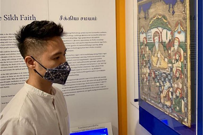 For Mr David Chew, the weekend also means time to explore the various exhibitions that are on.