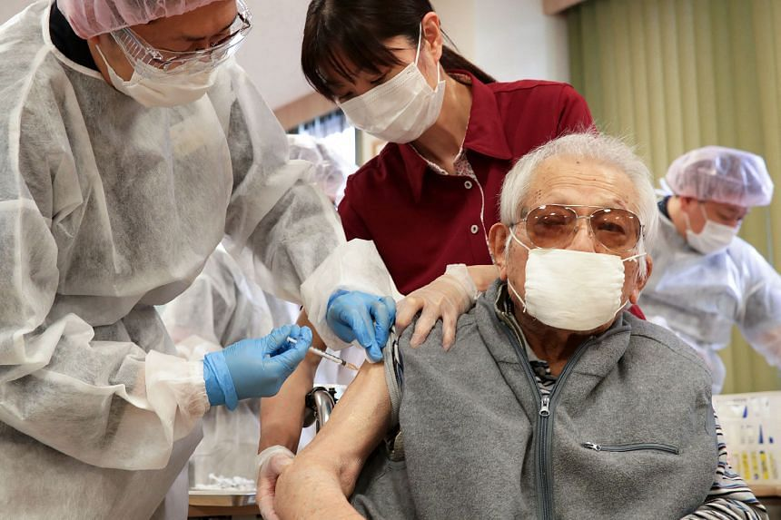 Japan's vaccination campaign has been sluggish, with just over 3.2 million doses administered.