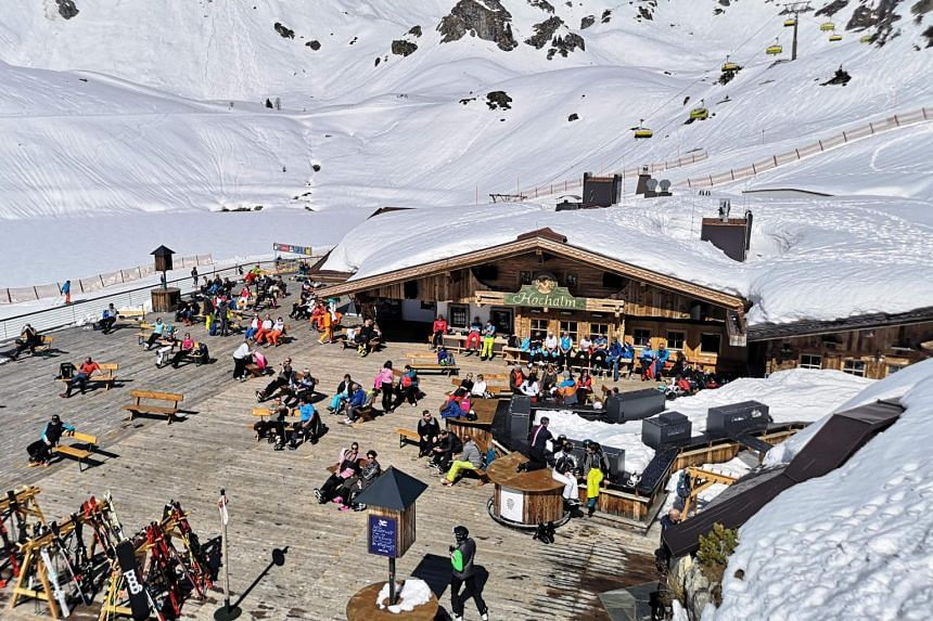 More than 6,000 people from 45 countries claim they got infected at ski resorts.