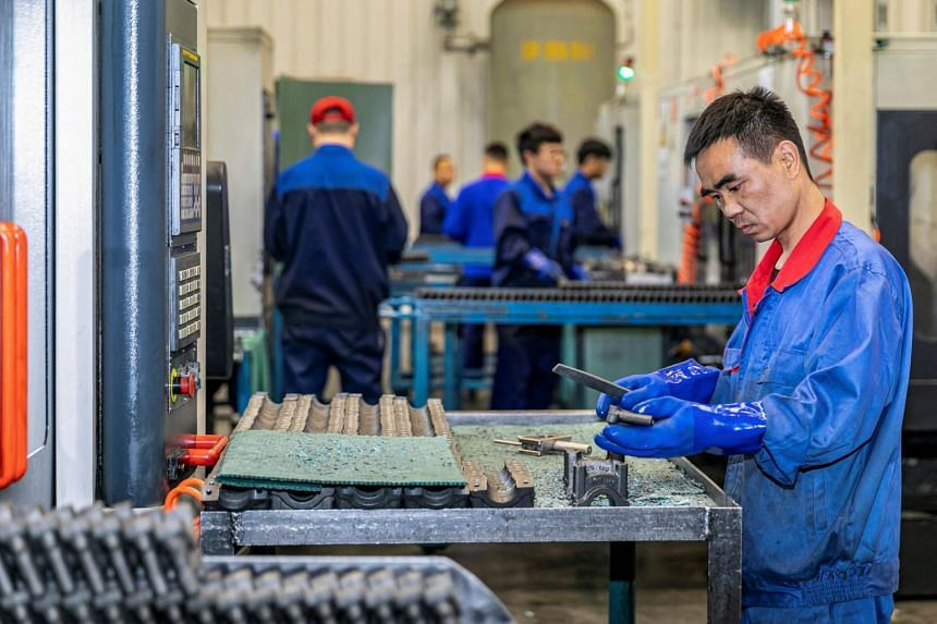 China's economic recovery quickened in the first quarter.