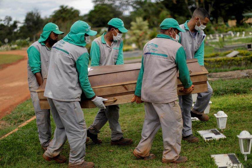 The Brazilian Health Ministry reported 3,001 deaths on Thursday (April 29), pushing the total to 401,186.