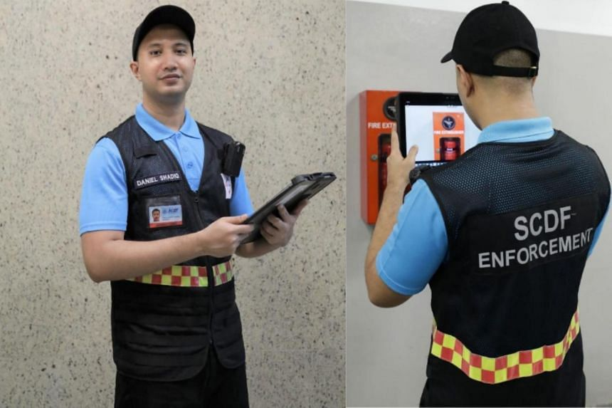 The uniforms which the newly appointed supplementary enforcement officers will don during inspections.