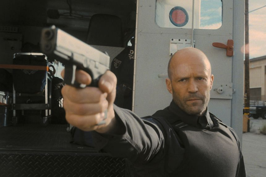 The maker of movies about bad men who look virtuous because those around them are worse is back with another fist-and-firearms spectacular featuring his favoured tough guy, Jason Statham (above).