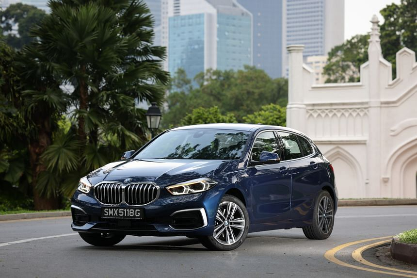 BMW's new 116i now has a detuned 1.5-litre three-cylinder engine which makes 109hp.