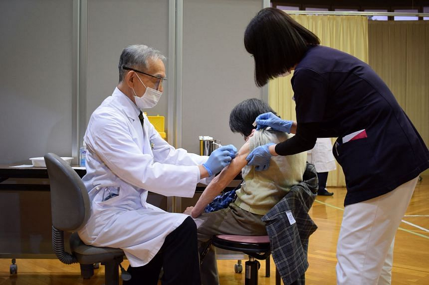 Public frustration over Japan's slow vaccine roll-out is intensifying.