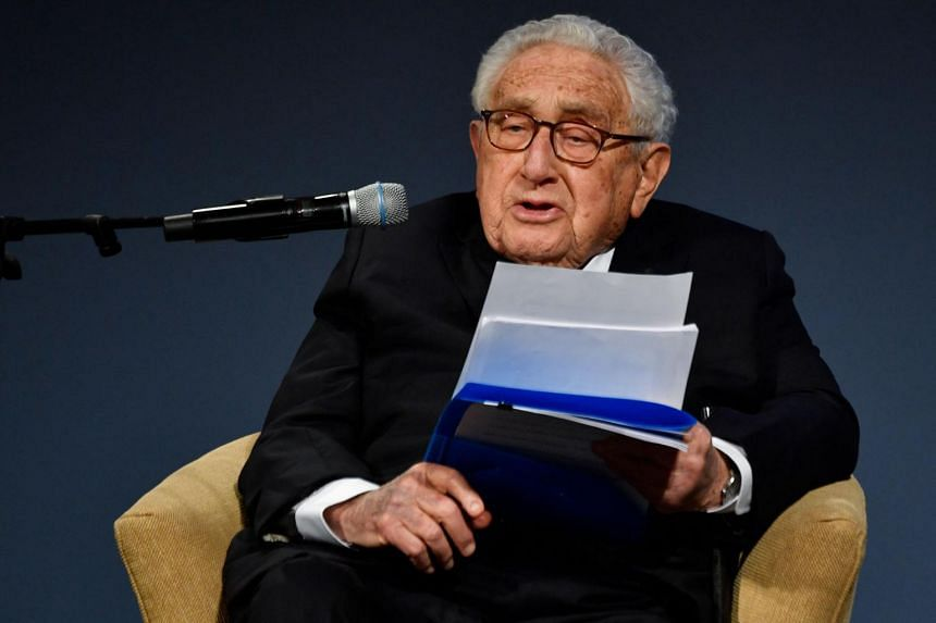 Mr Henry Kissinger said the mix of strengths of the two superpowers carried more risks than the Cold War with the Soviet Union.