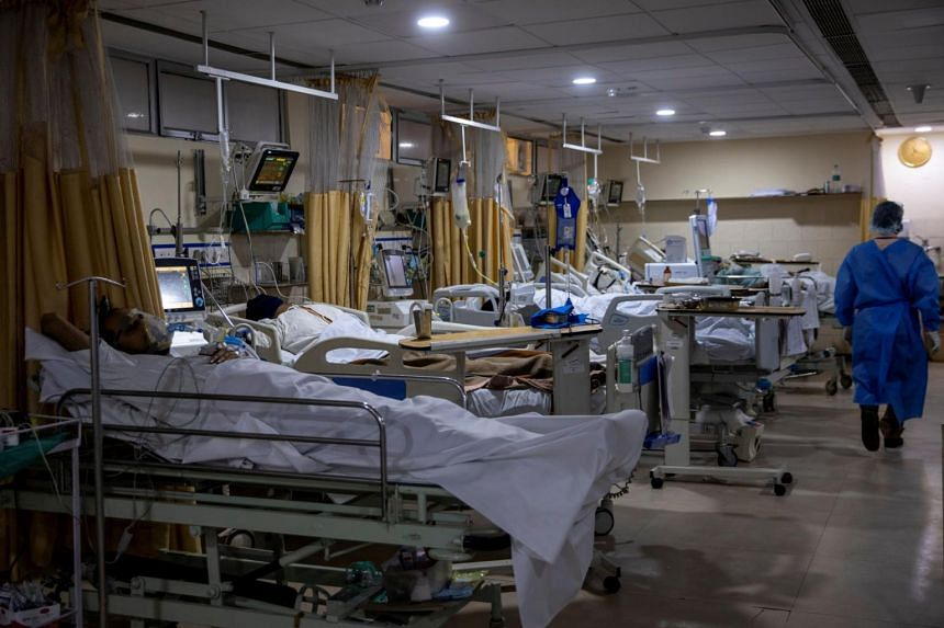 India is struggling to contain a second wave of infections much more severe than its first last year.