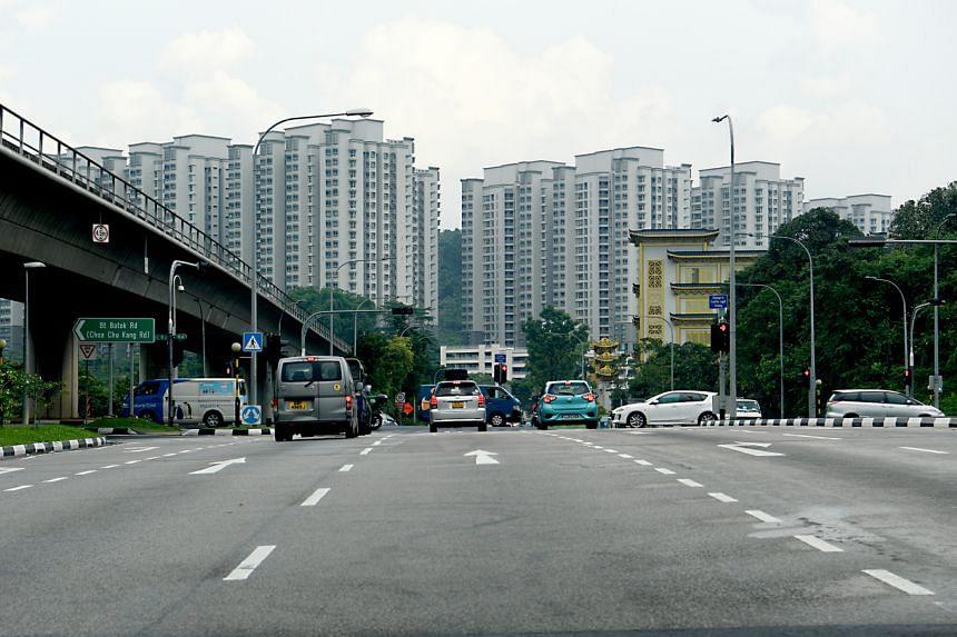 Mr Christian Joachim Pollmann was cycling along Brickland Road in Bukit Batok when Ye Xianrong's car crashed into him.