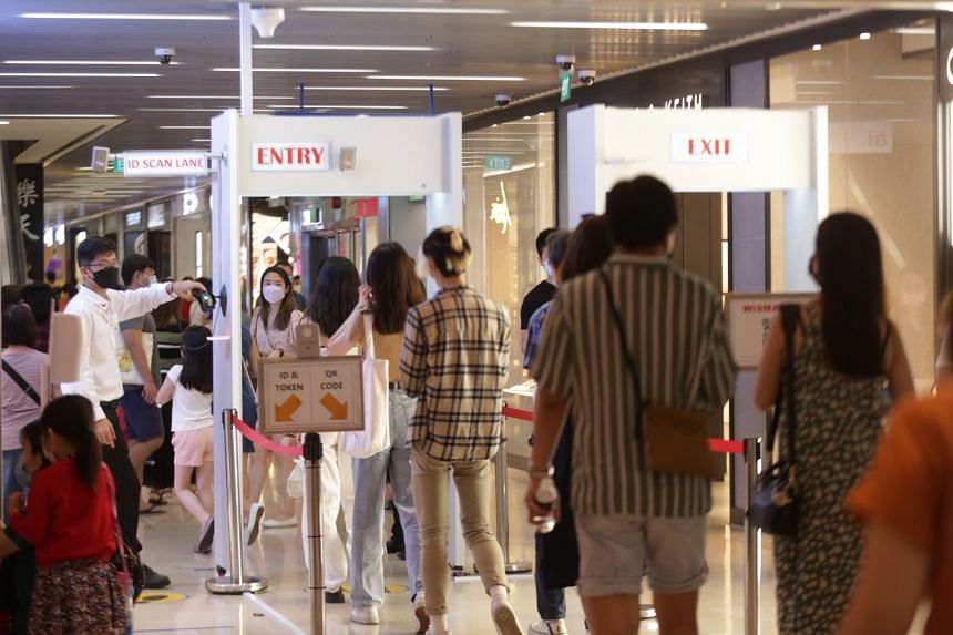 Till May 14, the capacity limit for malls and large standalone stores has been reduced.