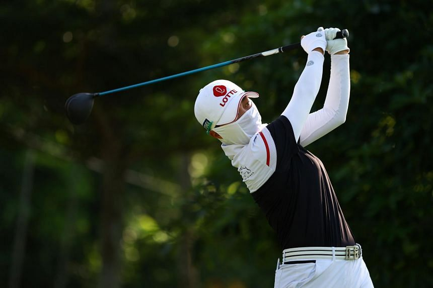 Kim Hyo-joo produced a stunning final round eight-under 64 on May 2, 2021.