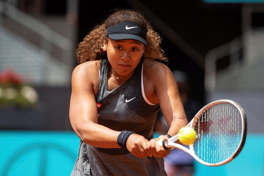 Osaka has seven career hard-court titles, but has never managed to lift a clay- court trophy.