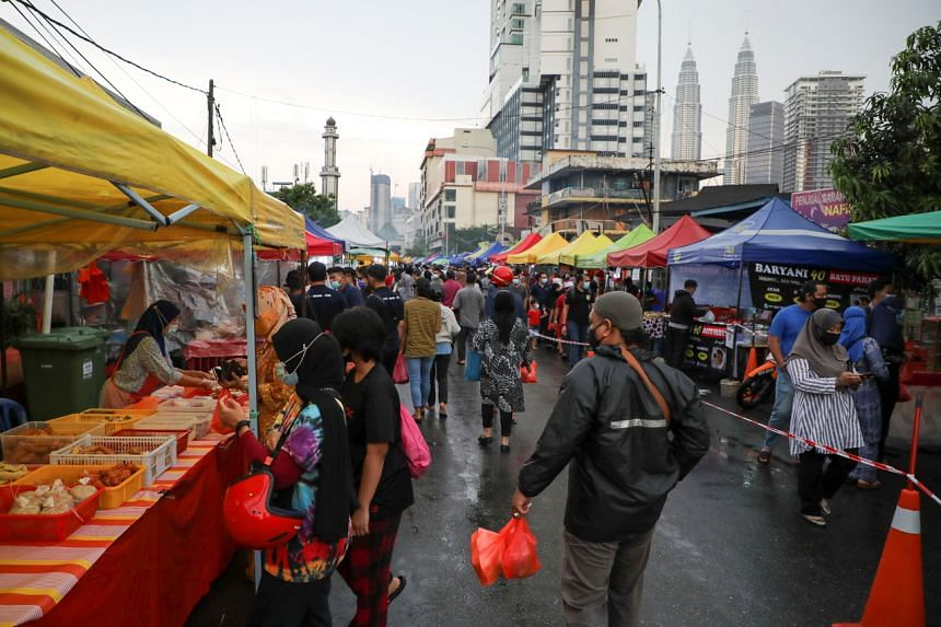 Ramadan bazaars in states where the movement curbs are imposed will reportedly be expected to close.