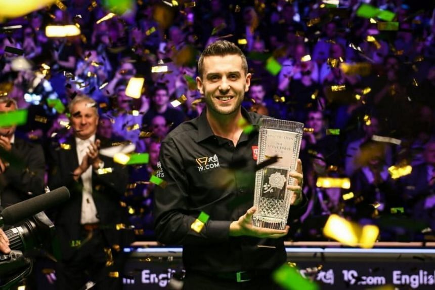 Mark Selby is a three-time world champion.