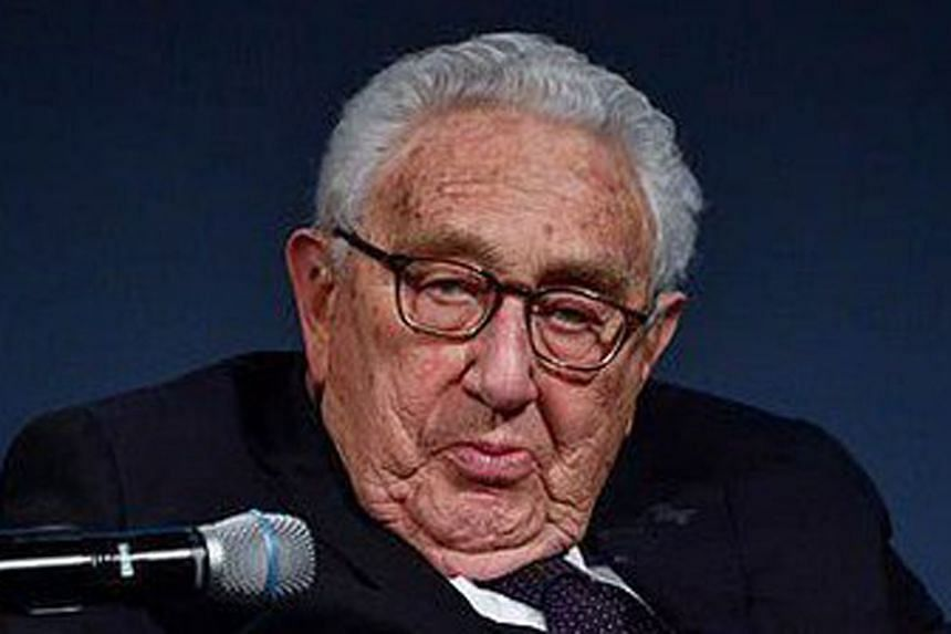 Mr Henry Kissinger said advances in nuclear technology and artificial intelligence - where China and the US are both leaders - have multiplied the doomsday threat.