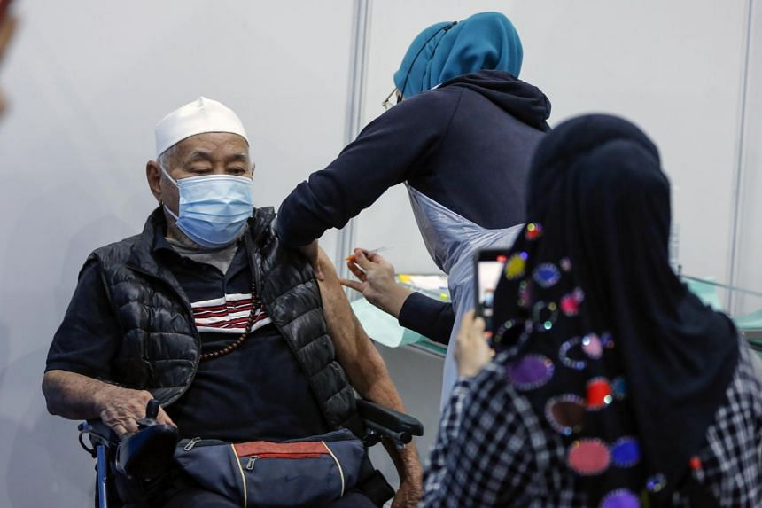 Malaysia had received its first 268,000 AstraZeneca vaccine doses in April.