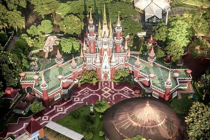 Taman Mini is a Disney-styled 146-hectare park that dates back to the 1970s.