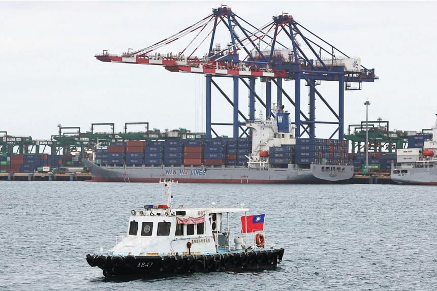 The Taiwan Strait is one of the world's most heavily policed waterways.