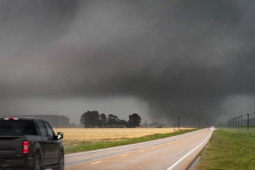 Strong storms are expected to continue moving east across north Mississippi.