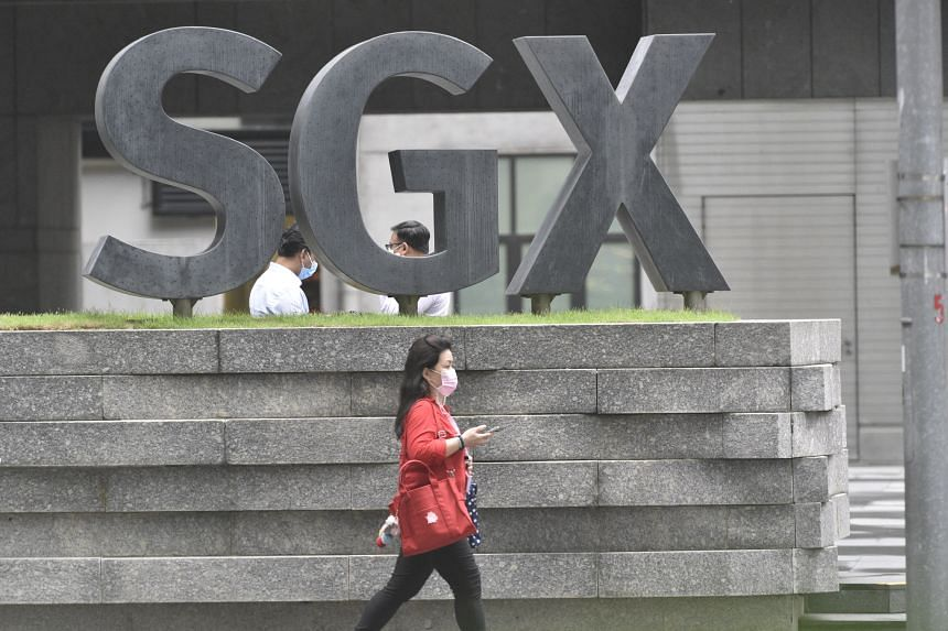 The benchmark Straits Times Index fell 1 per cent to close at 3,184.76.