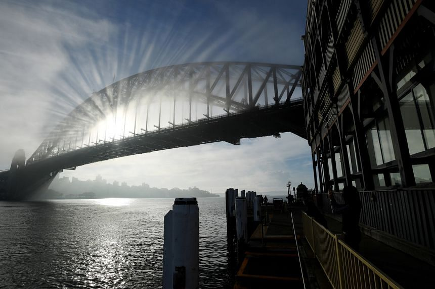 Sydney's residents were told to stay indoors if necessary, as air pollution levels spiked.