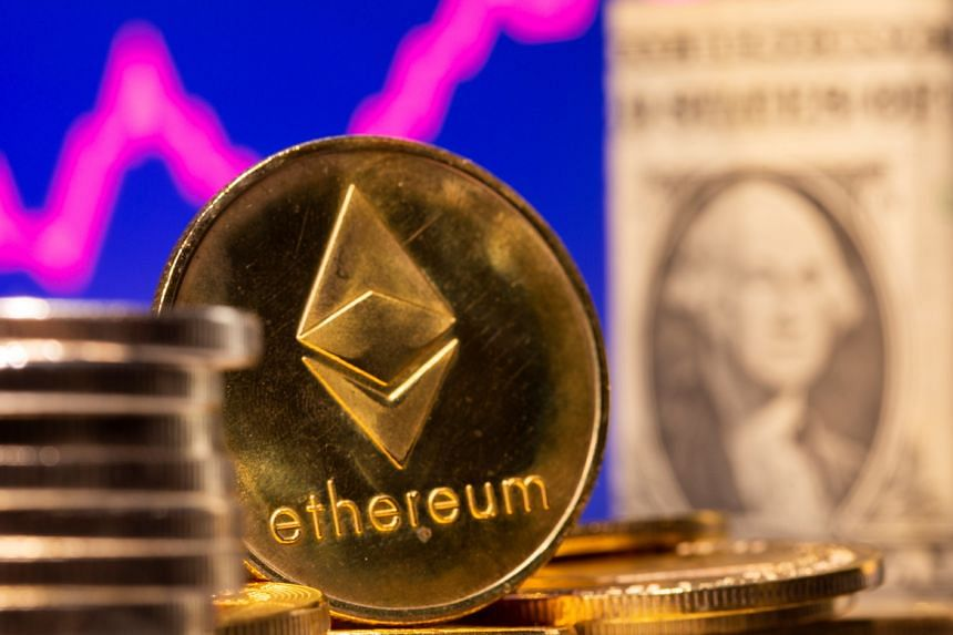 Ether hit US$2,989.95 in early Asia trade.