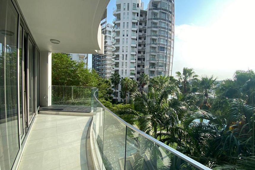 Among the properties is a two-bedroom condominium unit at The Oceanfront.