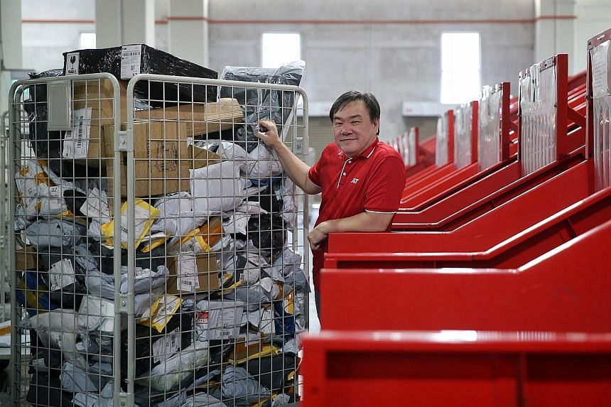 Mr Jason Ng, an operations manager at J&T Express Singapore. The Jakarta-based courier start-up, which expanded into Singapore in 2019, is Indonesia's newest unicorn, joining five others.