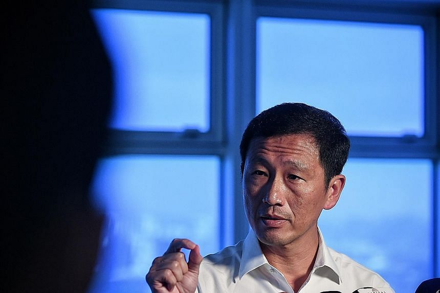 Transport Minister Ong Ye Kung