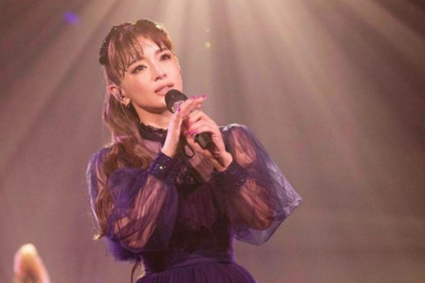 Ayumi Hamasaki sprang a surprise last October when she said that she was pregnant with her second child.