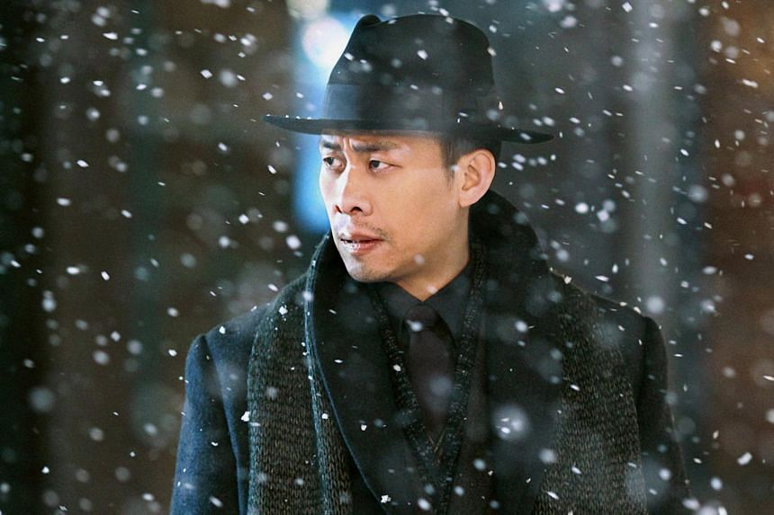 A movie still from Cliff Walkers, starring Zhang Yi.