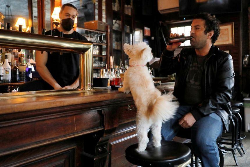 Mr Matt Friedlander at the White Horse Tavern in Manhattan on May 3, 2021.