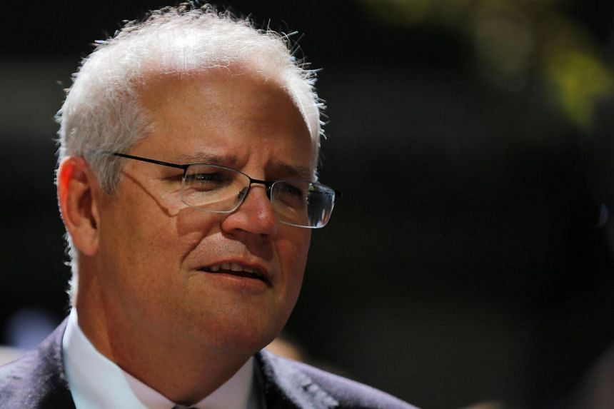 Mr Morrison had just fielded questions about his travel ban on Australian citizens returning from Covid-ravaged India.