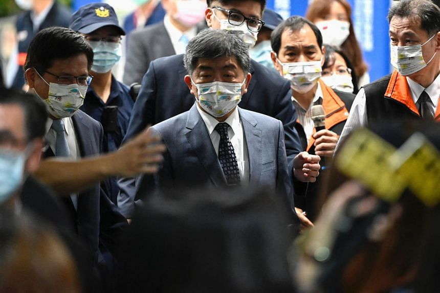 Health Minister Chen Shih-chung has come under criticism over a series of issues that could have worsened the outbreak.