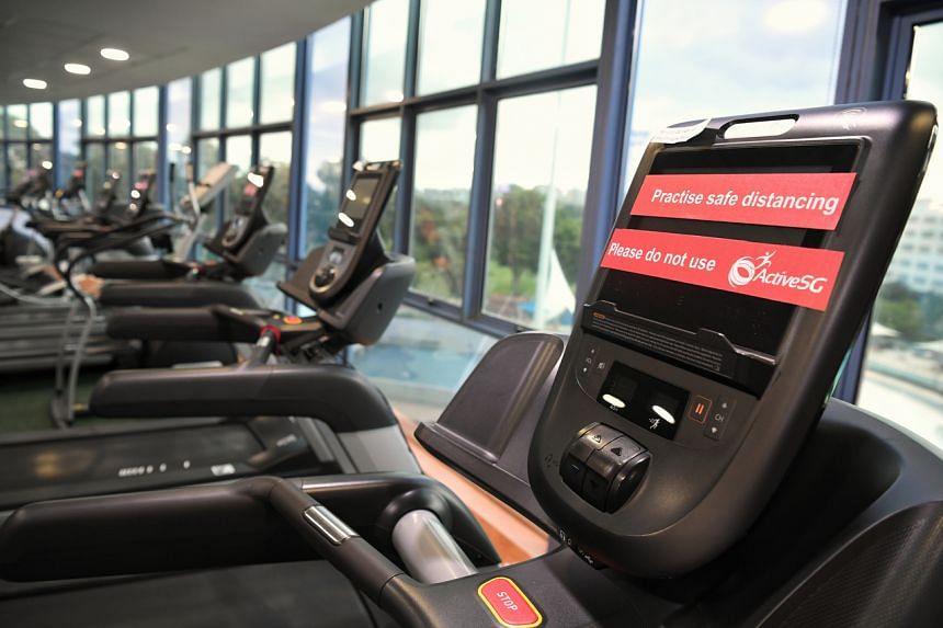 Indoor gyms and fitness studios are among the venues to be closed under tighter measures announced on May 4, 2021.