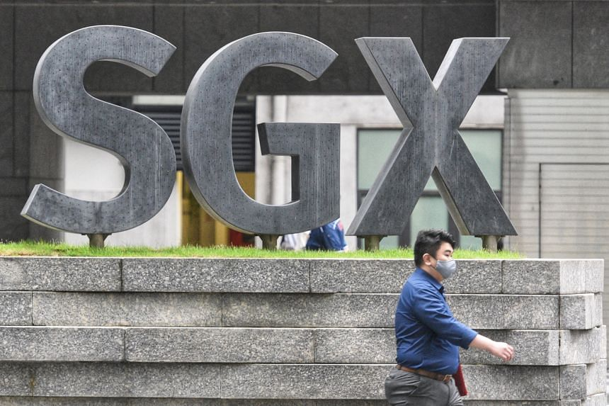 "The Singapore Exchange said trading ""is as per normal"", despite the website outage."