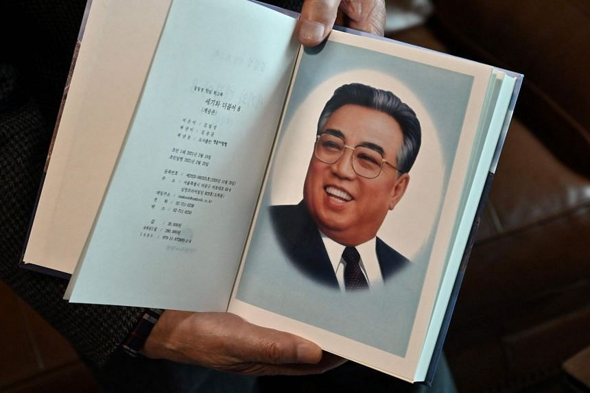 Publisher Kim Seung-kyun in April released North Korean founder Kim Il Sung's eight-volume memoirs, titled With the Century.