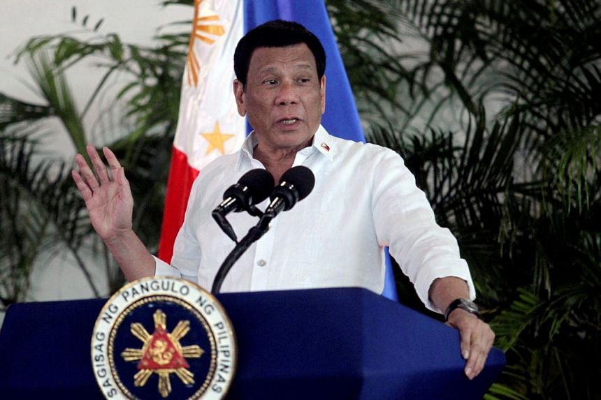 """""""China remains our benefactor,"""" Mr Rodrigo Duterte said in a taped televised briefing on May 3, 2021."""