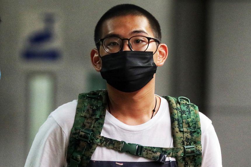 Derek Ng De Ren allegedly sent the online threatening messages while in Singapore.