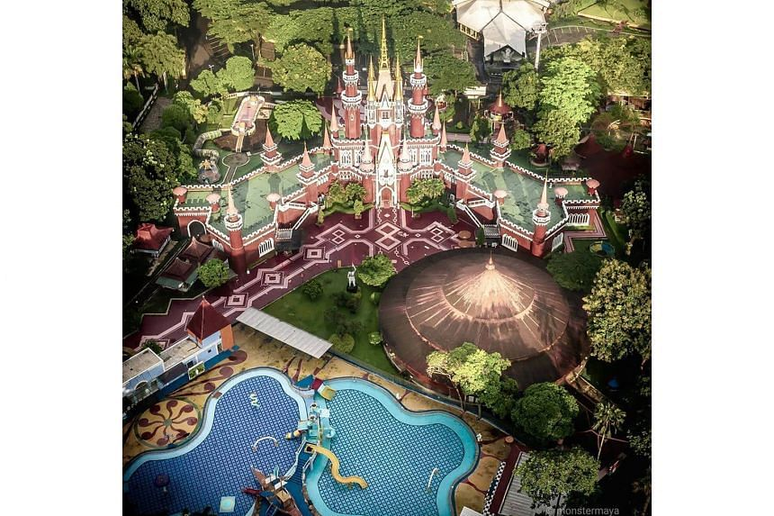 The 146ha Disney-styled Taman Mini Indonesia Indah was the brainchild of Mr Suharto's wife, Ms Siti Hartinah, and is a staple for Indonesians looking for an affordable day out.
