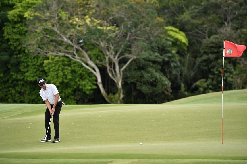 Gregory Foo snared an eagle and eight birdies in sensational fashion to win the event.