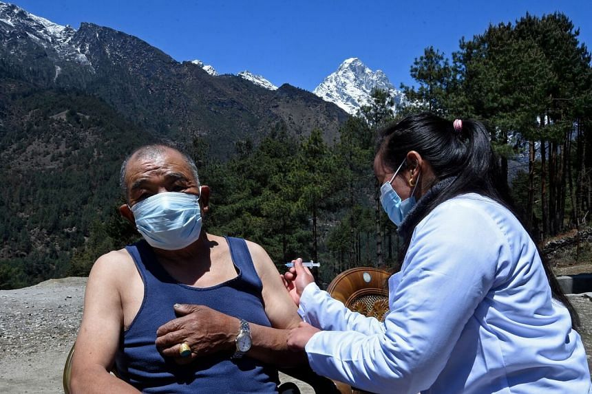 Nepal has already vaccinated more than two million people with the AstraZeneca vaccine.