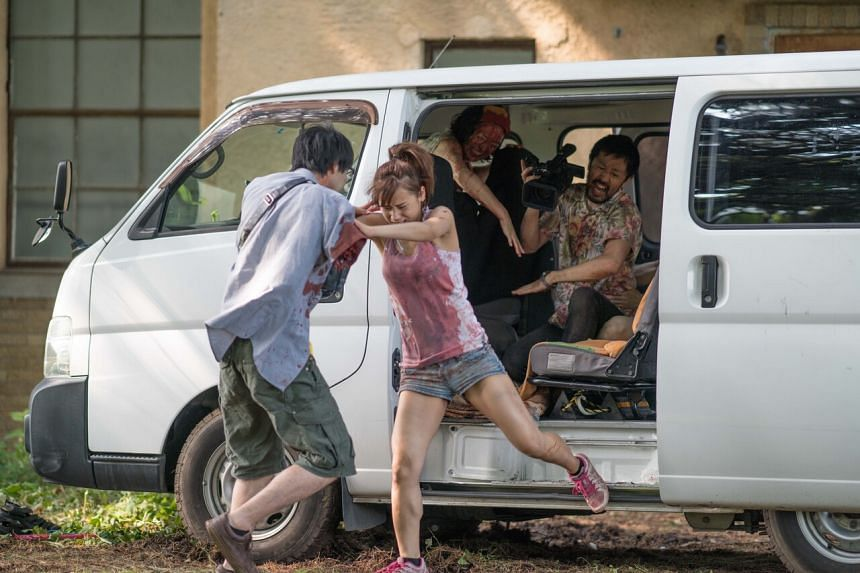 Film still from One Cut Of The Dead.