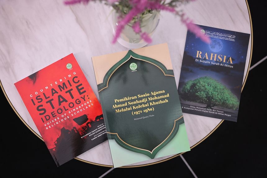 The three books are written by local Islamic religious teachers and published by the Singapore Islamic Scholars and Religious Teachers Association.