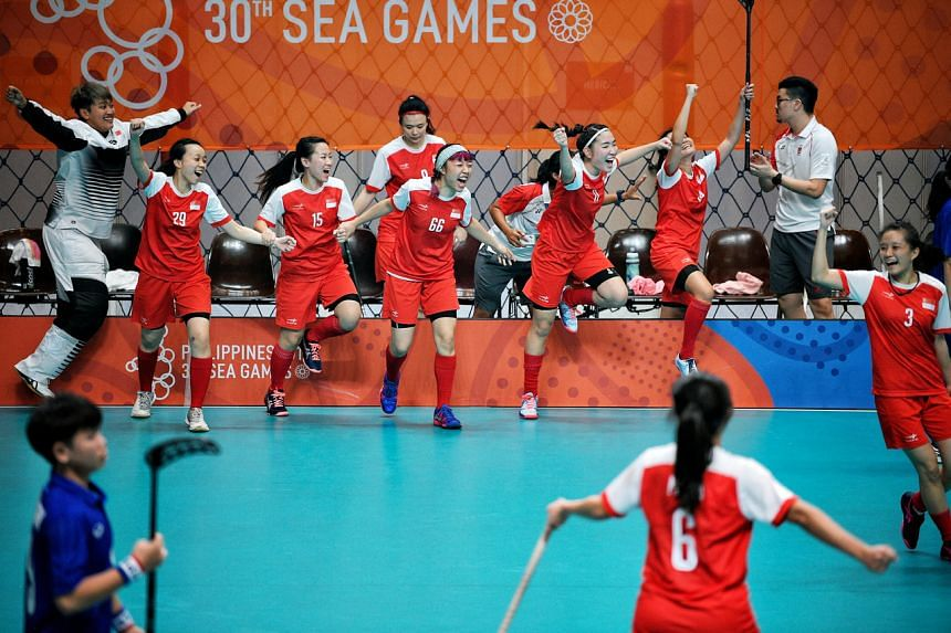 The national women's floorball team have enjoyed a successful past two years.