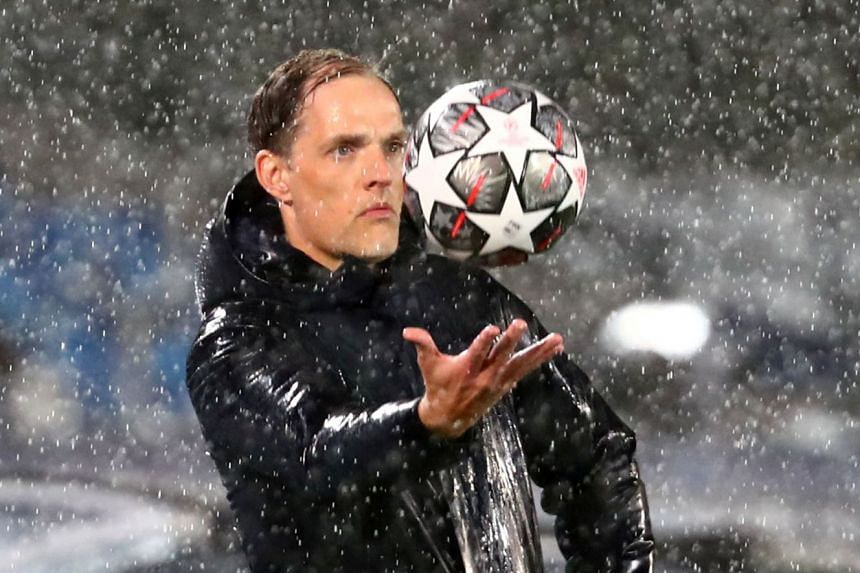 Chelsea manager Thomas Tuchel during Chelsea's Champions League semi-final first-leg match against Real Madrid.