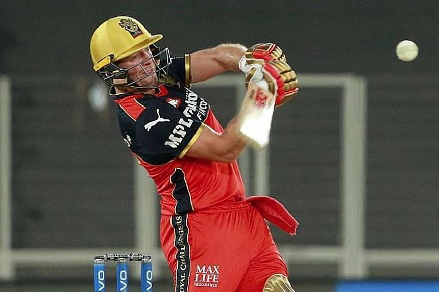 South African cricketer AB de Villiers of the Royal Challengers Bangalore is one of the Indian Premier League's foreign players who are seeking their way out of India following the league's suspension.