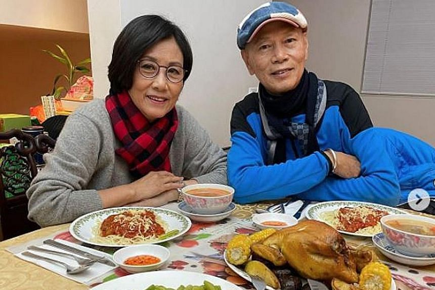 HAPPY ANNIVERSARY: It might have taken them 20 years before they got married, but Hong Kong show-business couple Liza Wang and Law Kar Ying (both above) are celebrating their 12th wedding anniversary this year. On Monday, Wang posted on social media