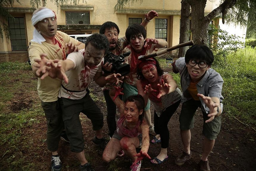 One Cut Of The Dead (2017, right), the original Japanese film by Shinichiro Ueda, was made on a budget of $33,000 and went on to make more than $40 million worldwide.