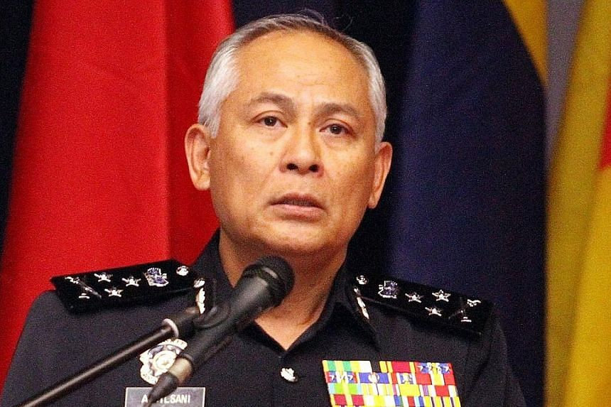 Datuk Seri Acryl Sani Abdullah Sani, Malaysia's new police chief, has helmed various departments in his 35 years with the force. PHOTO: THE STAR/ ASIA NEWS NETWORK