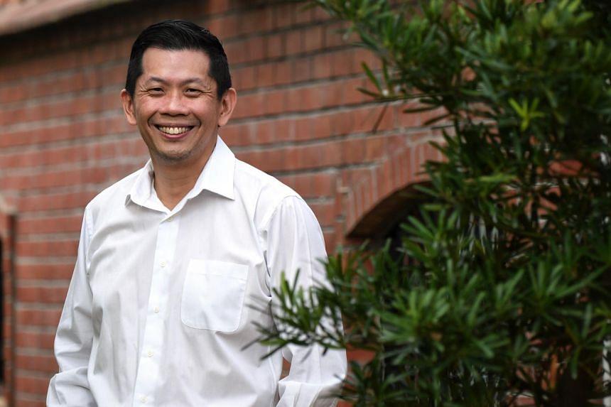 Mr Dilong Goh, managing director of Giantech.